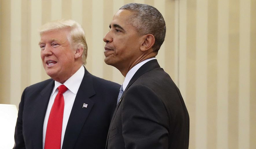 "Despite pledging a ""smooth and efficient"" transition on the day after Donald Trump's victory, President Obama has presided over an increasingly acrimonious war of words between the White House and the president-elect's team. (Associated Press)"