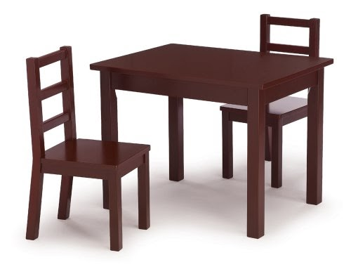 toddler table and chairs save on tot tutors kids 39 table. Black Bedroom Furniture Sets. Home Design Ideas