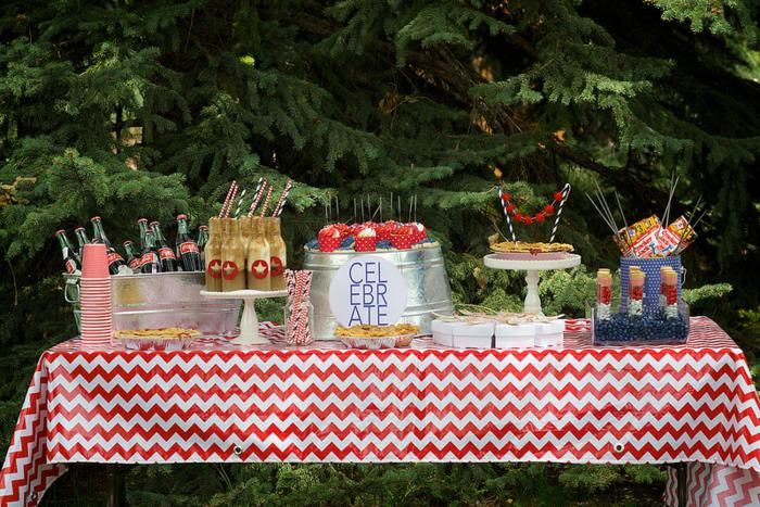 Summer Outdoor Party Decoration Ideas