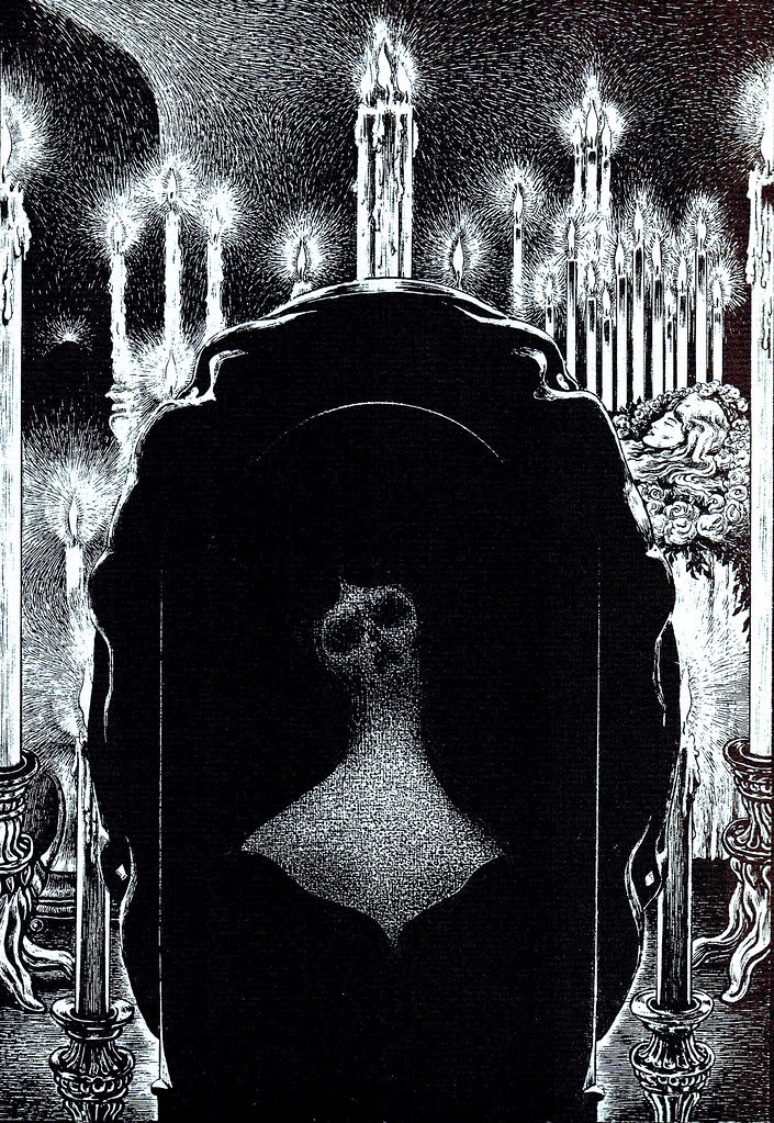 Alberto Martini - Edgar Allan Poe Illustration 6