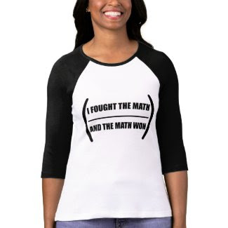 I Fought The Math - Women's T-Shirts
