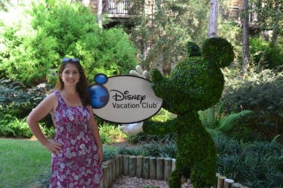 Photo of Kate Melody taken at The Villas at Disney's Wilderness Lodge.
