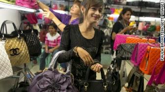 fake purses myanmar