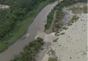 Barragem rompe em Jacareí - retrospectiva (Foto: Reprodução)