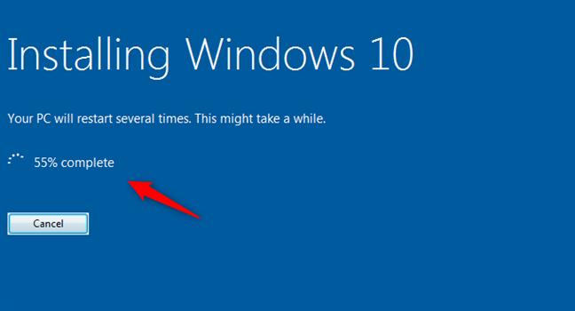 Instalación de Windows 10