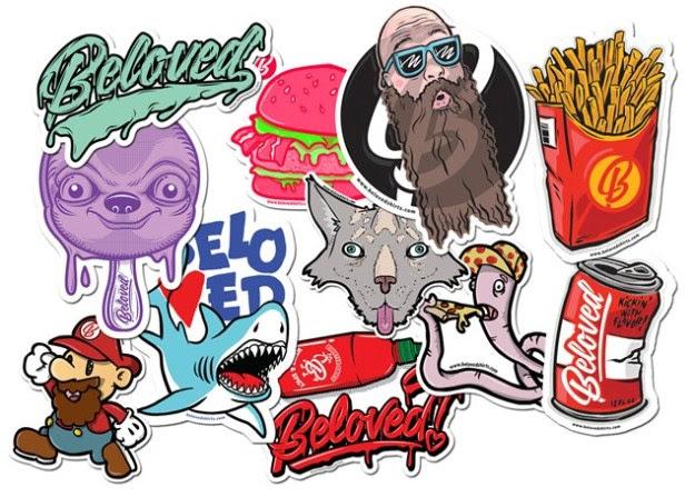 DIY Tumblr Stickers! 11