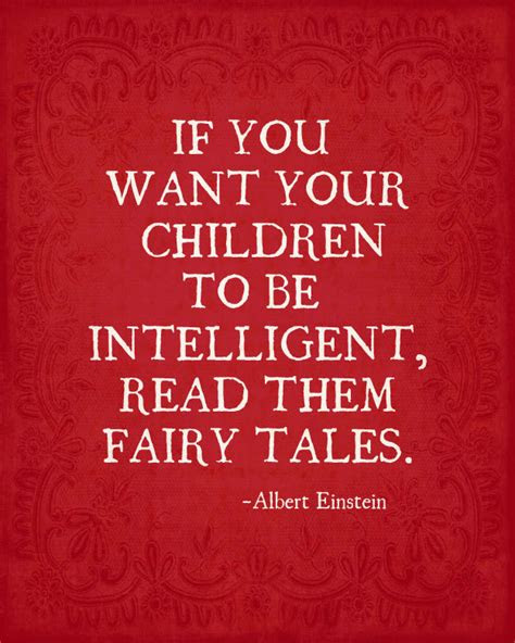Albert Einstein Fairy Tale Quotes