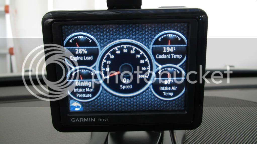 Garmin 1260T & Ecoroute HD
