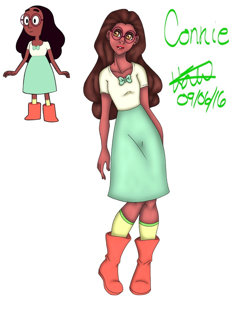 Connie from Steven universe ❤️❤️❤️🙈🙈🙈🙈