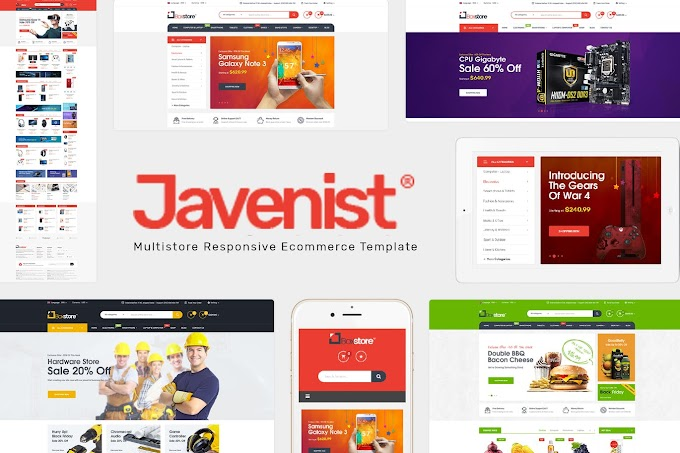 Javenist - Multipurpose eCommerce WordPress Theme