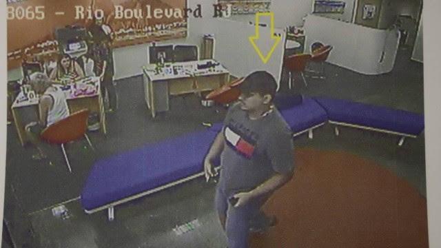 Assaltante de banco na Agência Itaú, em Vila Isabel