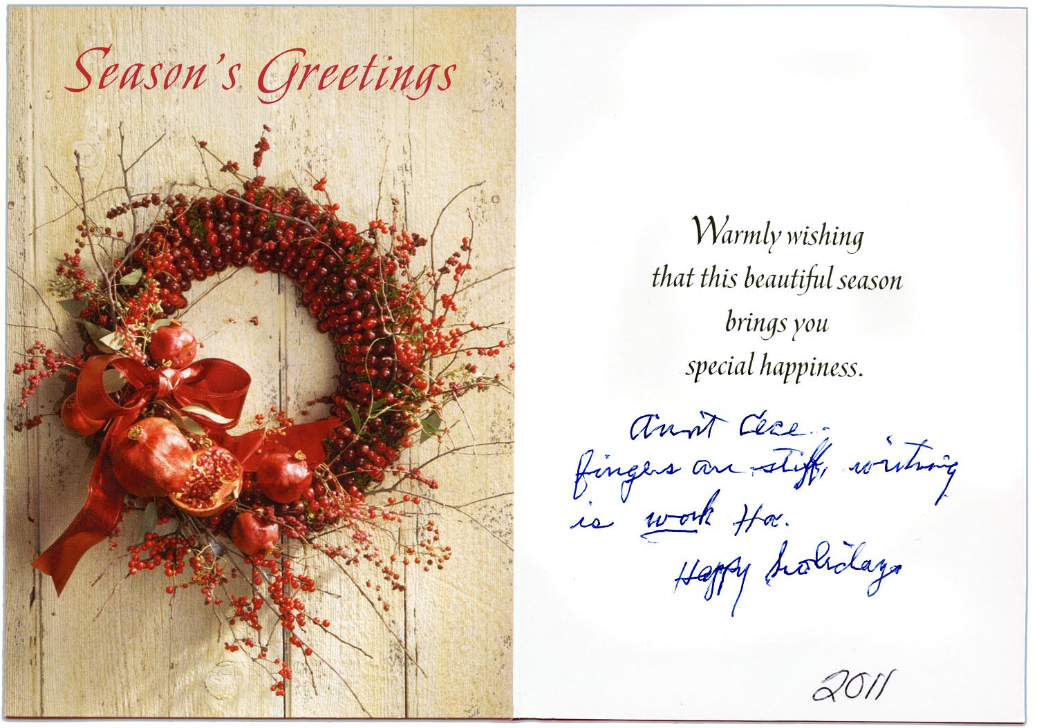 Christmas Card Messages For Sister Driveeapusedmotorhomefo