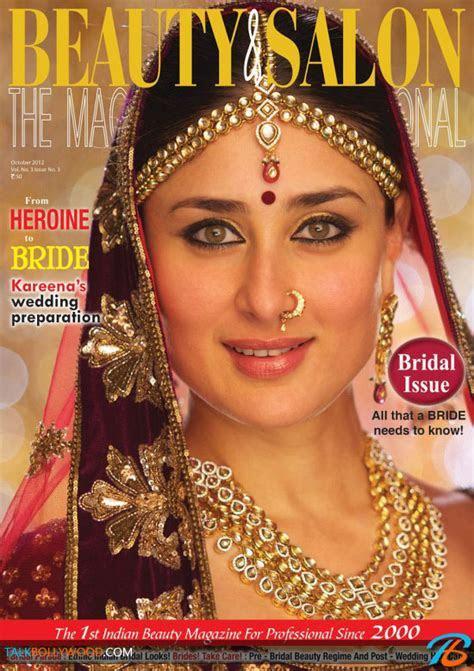 Kareena Kapoor poses as a bride for Beauty & Salon