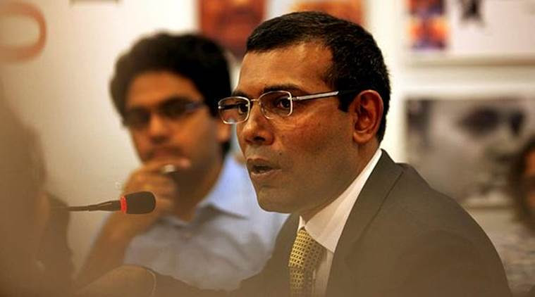 "Former president Mohamed Nasheed said Maldives has nothing against China, but it should not attempt to change the ""state type"" and have democratic oversight, among other things. (File)"