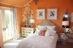the modern home decor: Interior orange color Painting Ideas for ...