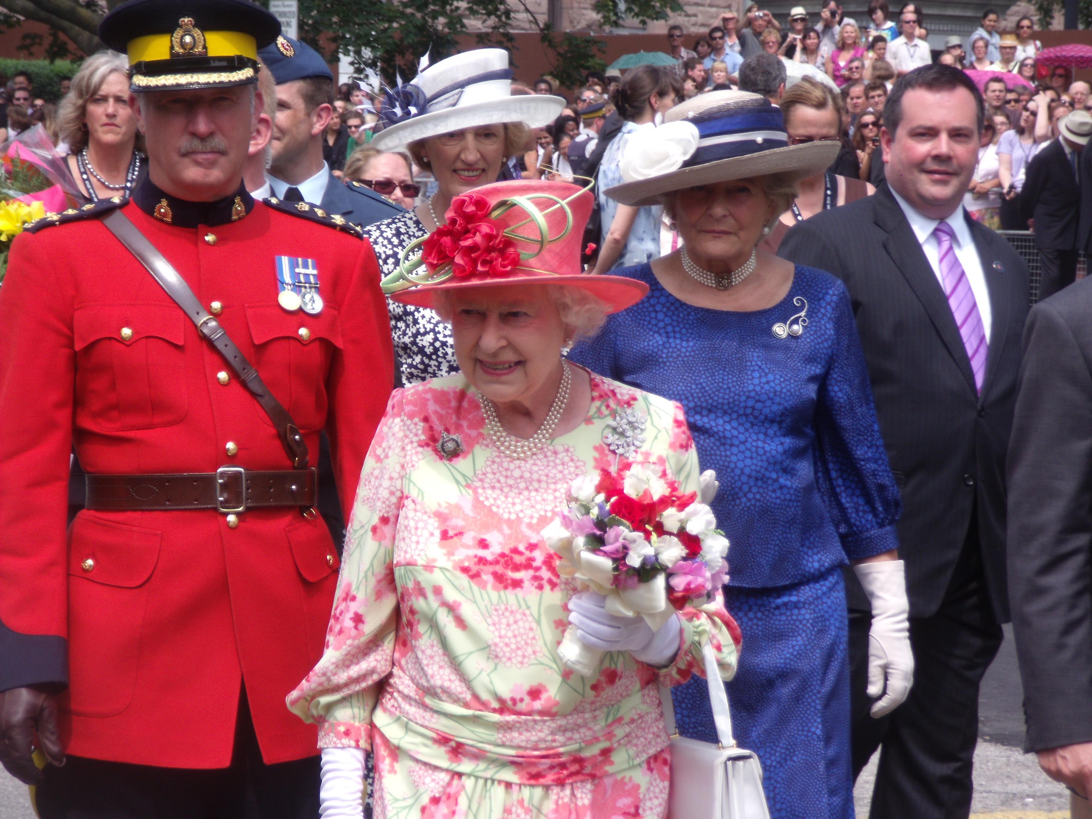 Her Britannic Majesty in Toronto in 2010