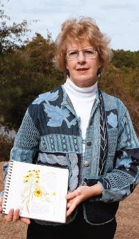 Artist Pam Johnson Brickell teaches workshops in nature journaling as a means of remembering 'time spent in places you love, soaking up the slower side of life.