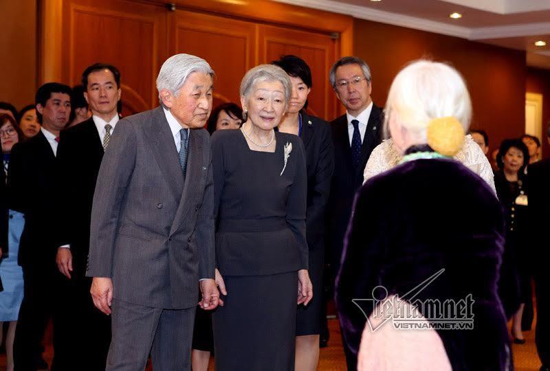 Nhà vua Nhật Bản, Hoàng hậu Nhật Bản, Nhật hoàng, cựu binh Nhật