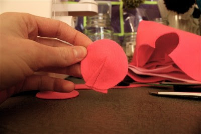 sewn dart
