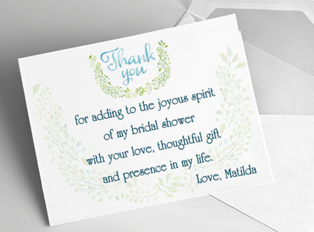 Engagement Party Host Thank You Note
