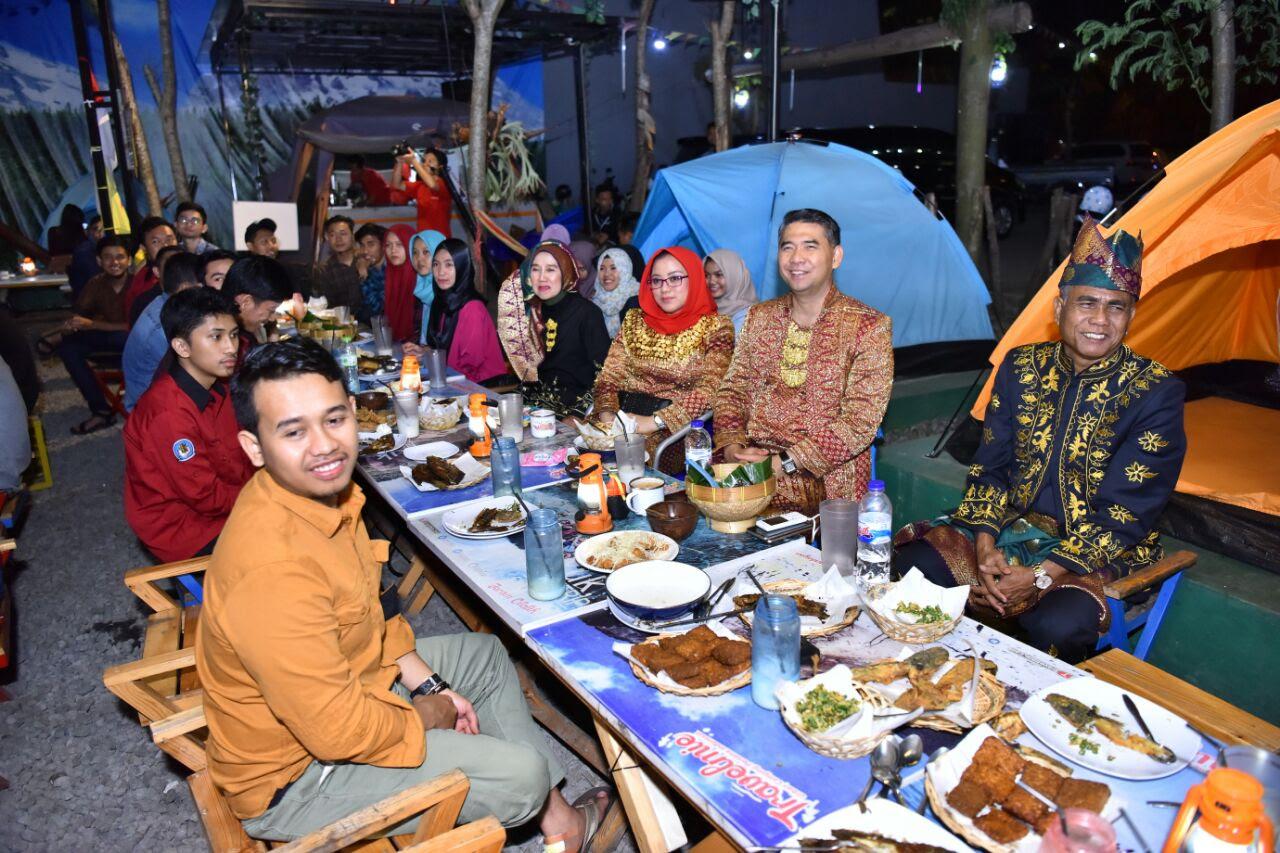 mahasiswa jambi di kota malang bangga bertemu fasha