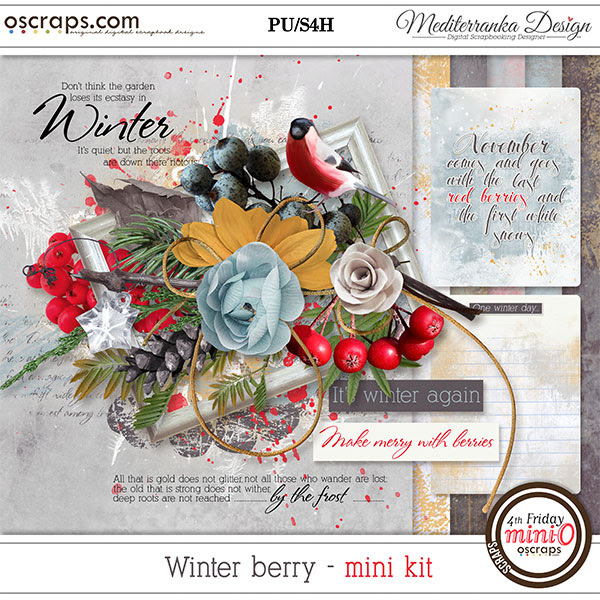Winter berry (Mini kit)