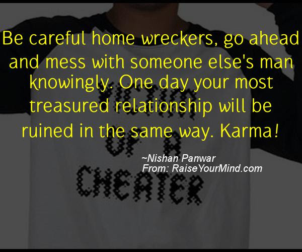 Bad Karma Quotes Quotes Sayings Verses Advice Raise Your Mind