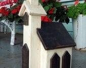 Bird House is a Lovely Vintage Handmade Church - PetrocyStudios