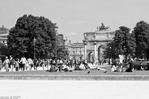 Arc de triomphe du Carrousel by Jean-Fabien - photo & life™