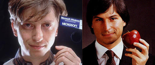 Bill Gates & Steve Jobs