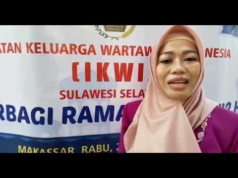 Pengurus IKWI Provinsi Sulsel, Berbagi Takjil Di Bulan Suci Ramadhan 1442-H Tahun  2021-M