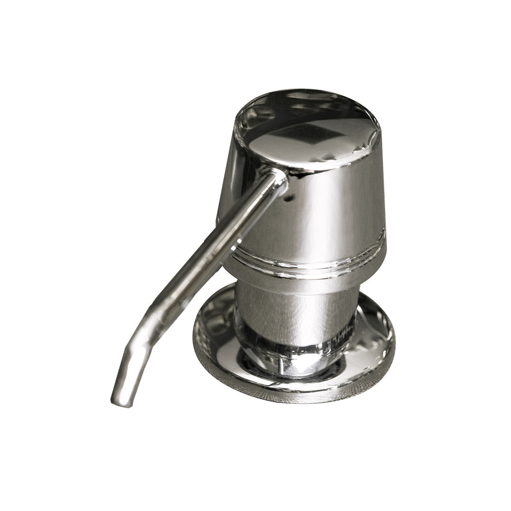 Dax Round Kitchen Sink Soap Dispenser Deck Mount Stainless Steel Ch