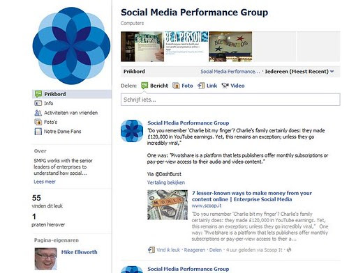 Social Media Performance Group by totemtoeren