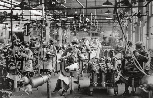Durante los años 20, la industria manufacturera convirtió Detroit en la ciudad más próspera de los EEUU. (Photographium)