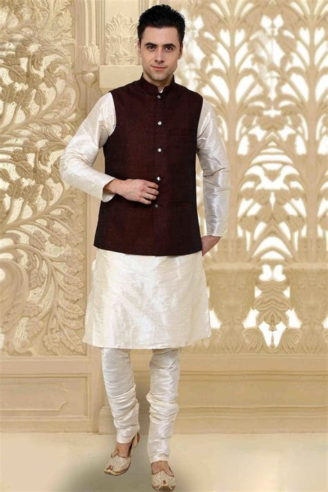 kurta pajama with jacket   Google Search   Indian wedding