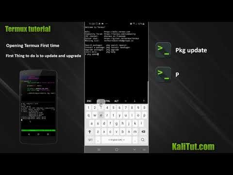 how to Install Termux On Android and fix permission denied - KaliTut