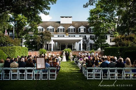 Wedding Ceremony at the Woodstock Inn and Resort in