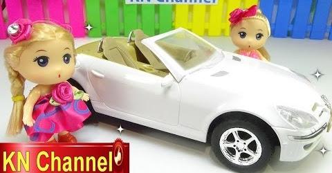Đồ chơi trẻ em Bé Na và Nhật ký Chibi Búp bê tập 29 Xe ô tô Car toy & Baby doll toys