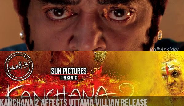 Sun Pictures spoils Uthama Villain release plans?
