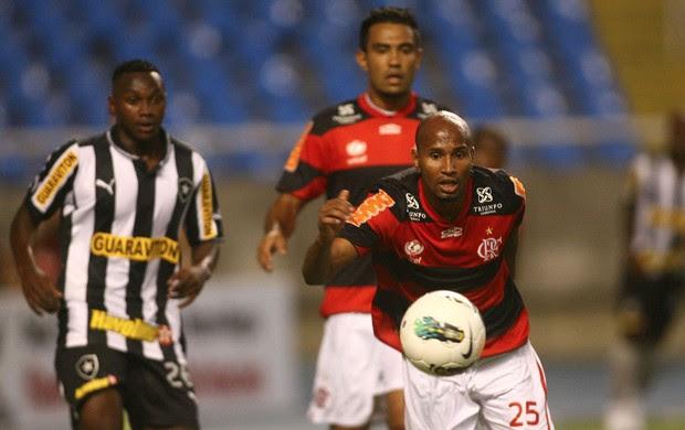 Wellington Silva Flamengo x Botafogo (Foto: Bernardo Monteiro / VIPCOMM)