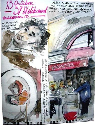 Valladolid. 37th Sketchcrawl