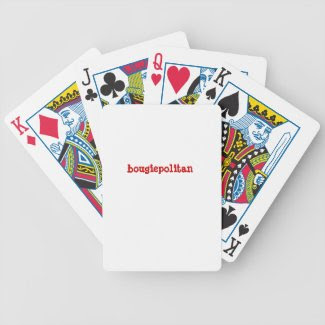 bougiepolitan poker deck