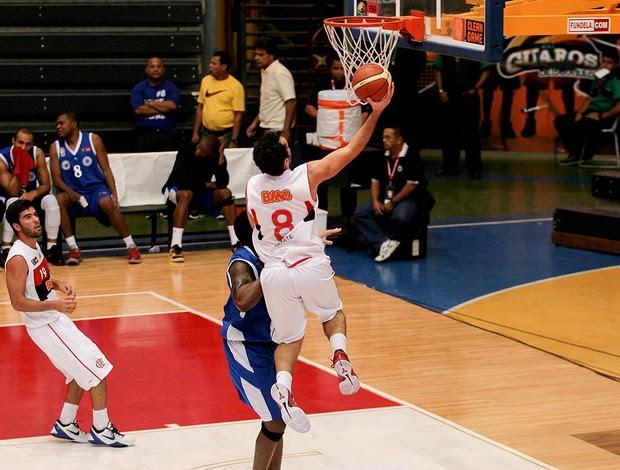 basquete benite flamengo e Estrellas Occidentales liga das américas (Foto: Samuel Vélez / FIBA Américas )