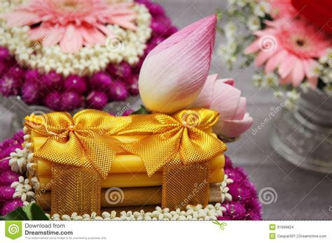 Thai Wedding Decoration Details Stock Images   Image: 31999824