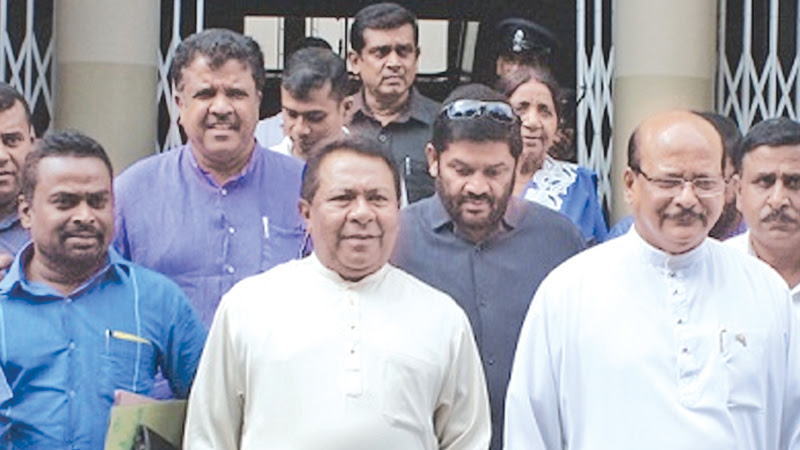 JO MPs enraged with Rajapaksas - SB