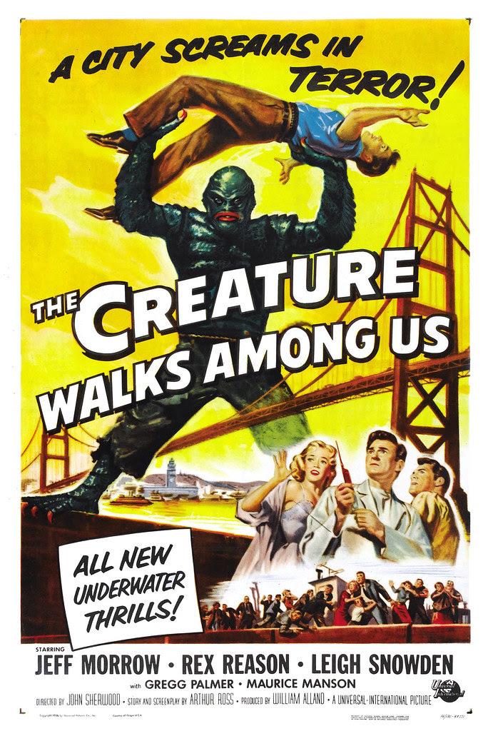 Reynold Brown - The Creature Walks Among Us (Universal International, 1956) poster 2