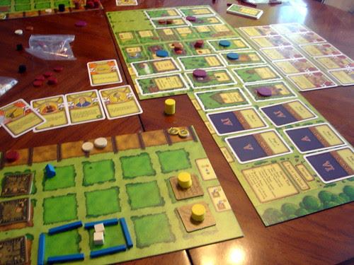 Losing at Agricola