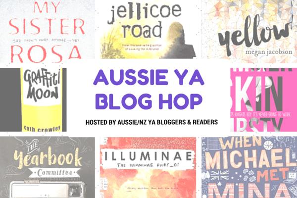 Aussie YA Blog Hop Banner