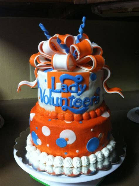 Tennessee Lady Vols cake   My cakes   Pinterest   Cake