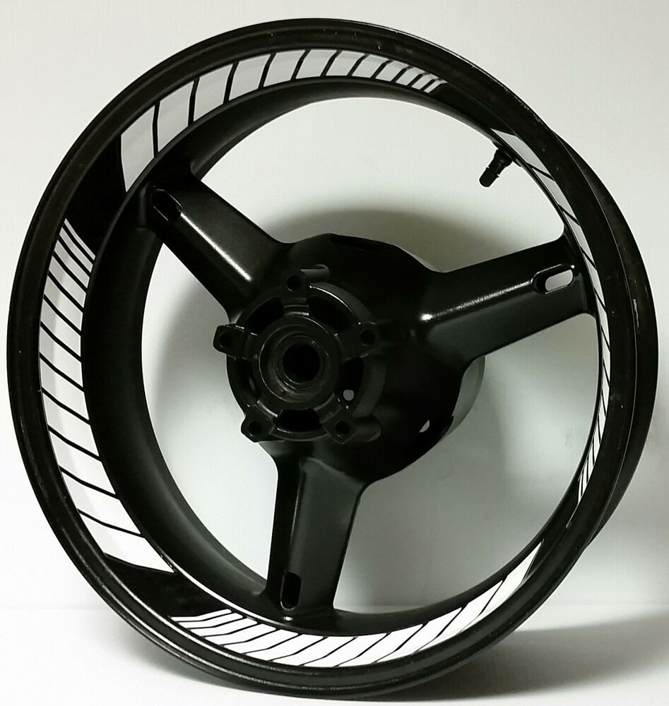 CUSTOM MOTORCYCLE INNER RIM DECALS INSIDE WHEEL STICKERS STRIPES RACING TAPE  eBay